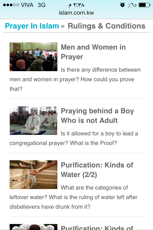 Browsing by mobile: Islam Beyond Borders 4